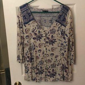 Cute bohemian blouse